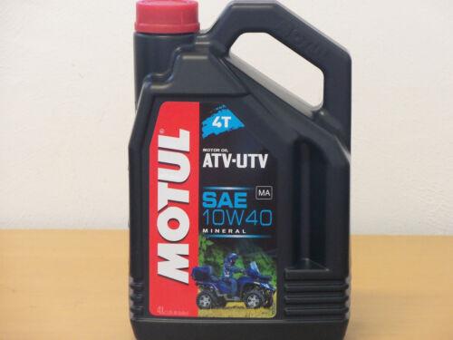 8,48 €//L Motul ATV-UTV 10w-40 4t 4 L