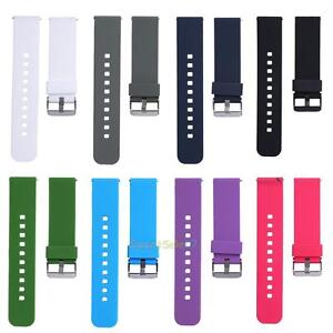 Silicone-Watch-Band-Strap-for-LG-G-Watch-W100-W110-W150-Cookoo2-Smart-Watch