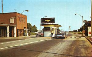 ETATS-UNIS-Main-Gate-U-S-Naval-Air-Station-QONSET-POINT-Rhode-Island-RI