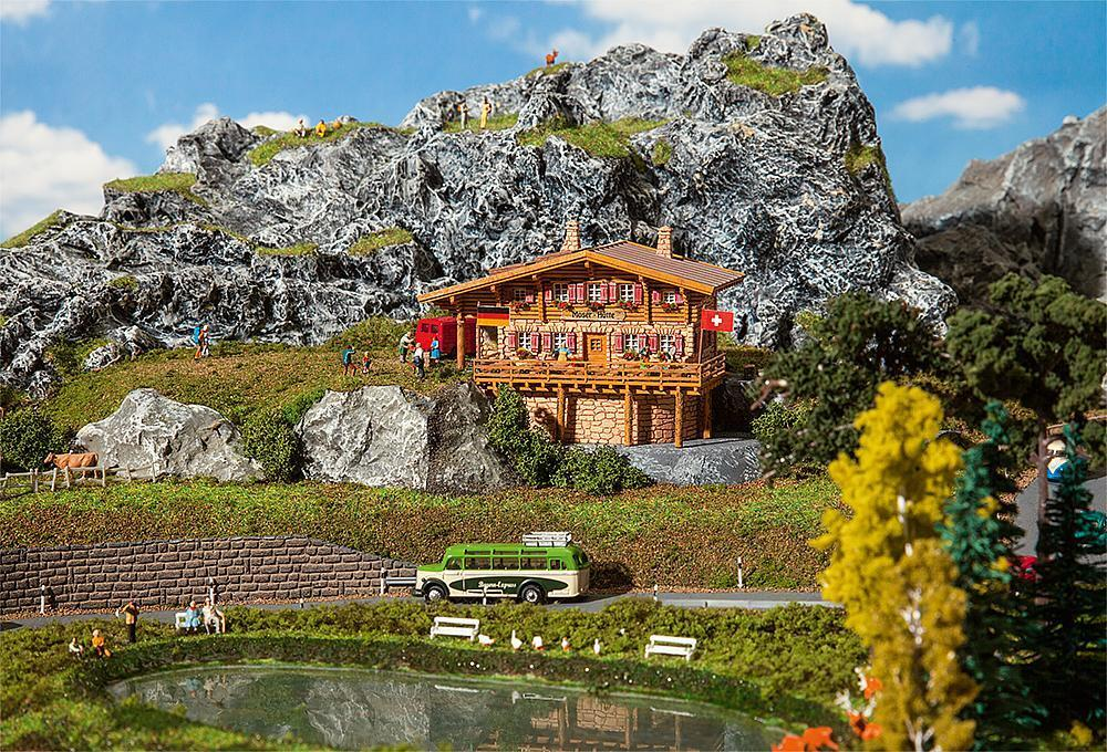 Faller 232356 Spur N hochgebirgshütte Moser-Capanna  neu in OVP