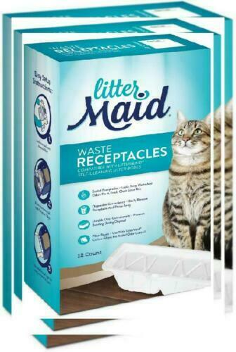 12 Pack 12 Filters New LitterMaid Waste Receptacles