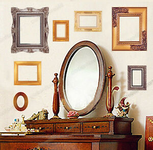Classic-Photo-Frame-Pictures-Wall-Stickers-REMOVABLE-Vinyl-Art-Decal-Home-Lounge