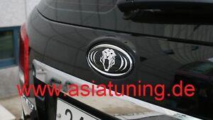 Tiger-Emblem-hinten-Heckklappe-Kia-Ceed-auch-pro-und-sw-Tuning-Zubehoer-chrom