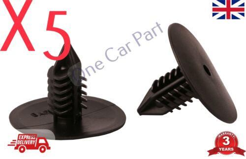5X RENAULT WHEEL ARCH LINING SPLASH GUARD TRIM SPRUCE CLIPS Clio Scenic Megane