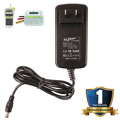 AC Adapter for Brother P-touch PT-D210 PT-E100 PT-D210BK Label Makers Power Cord