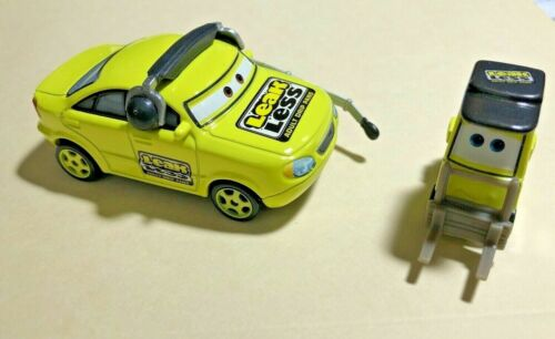 Stacy /& Crew Chief  New but not in pkg 2 piece set Disney Pixar Cars