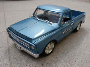 CHEVROLET-c-10-1967-Pick-up-Camion-Nickey-Custom-Shop-ACME-Coche-Modelo-1-18