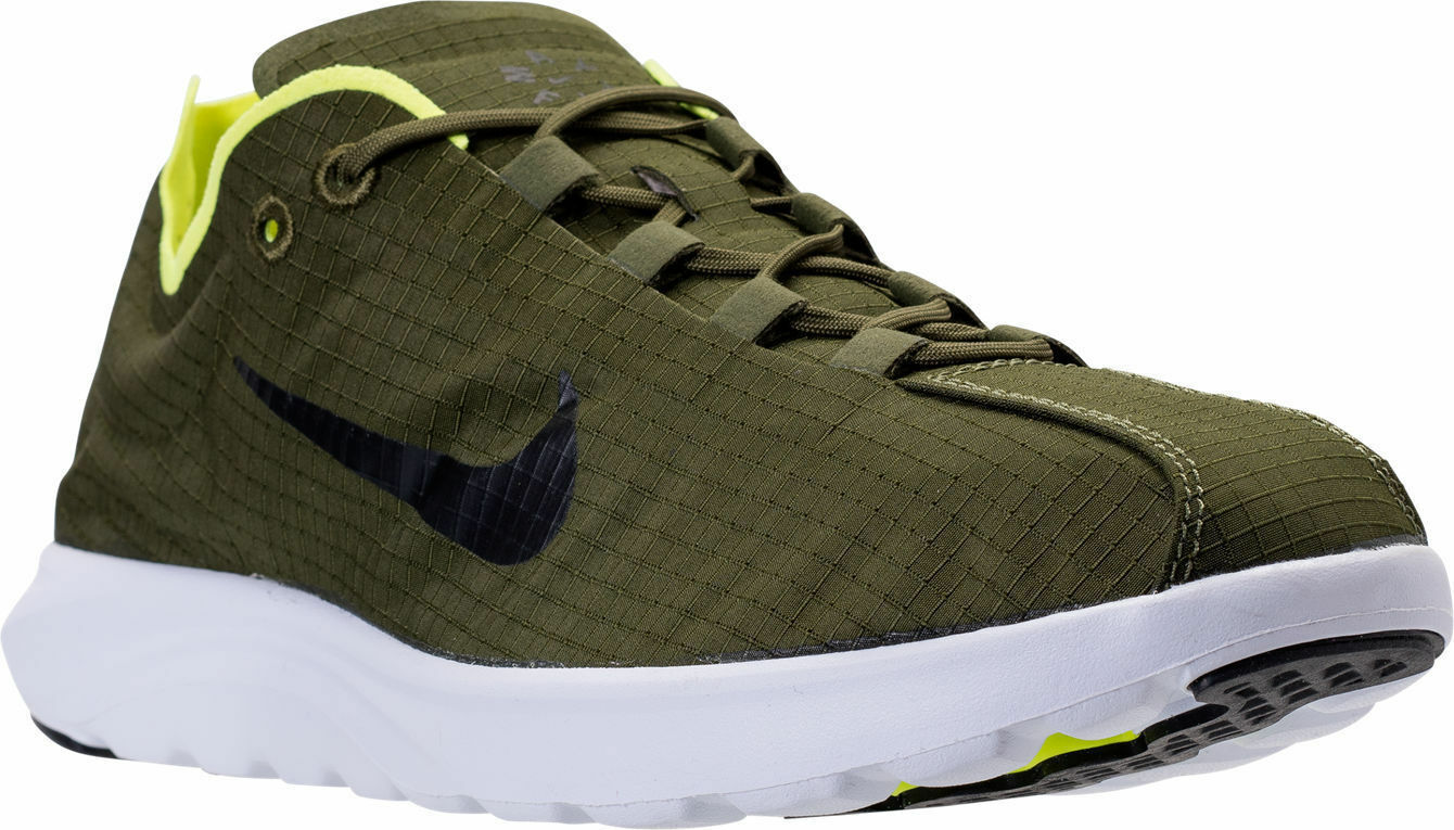 Nike Mayfly Lite SE Men's Running shoes Legion Green Black Volt 876188 300 11.5