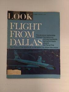 Look Magazine February 21 1967 John F Kennedy JFK - Vintage Complete