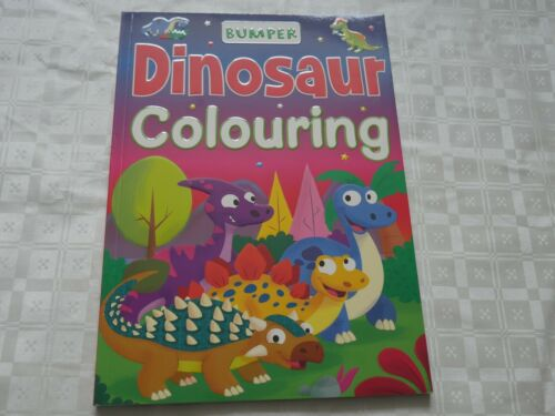 Bumber Colouring Books Magical Dinosaur Holiday Jungle Frozen 2 Boys Girls Play