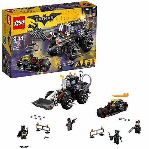 LEGO® Batman Movie  Two-Face™ Double Demolition Building Set 70915 NEW NIB