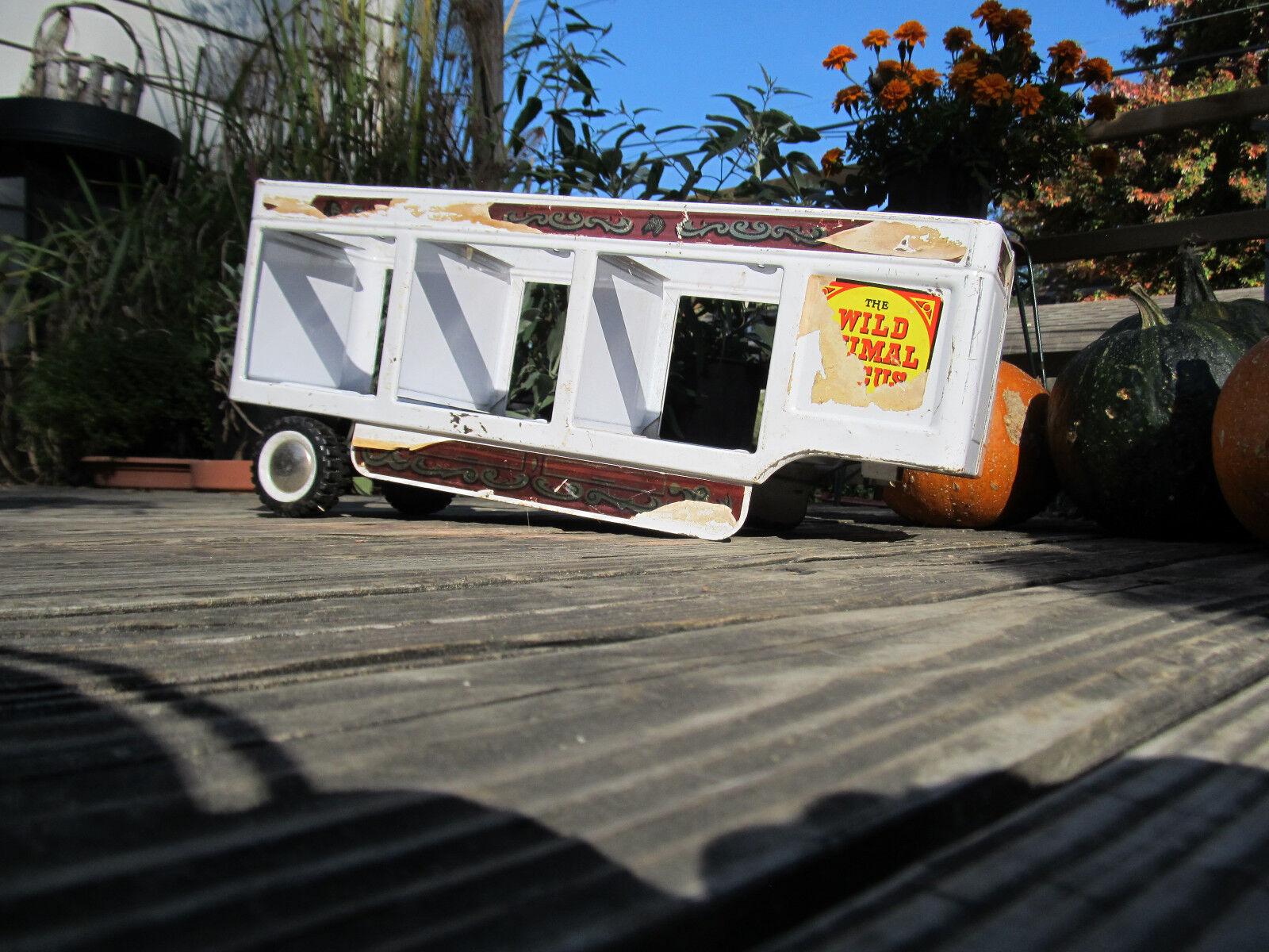 Jahrgang sehr selten folgen uns die wildtier - zirkus auf rädern  l - trailer