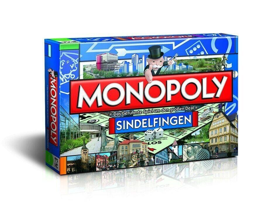ORIGINALE Monopoly Württem città città edizione GIOCO DA  TAVOLO GIOCO NUOVO  bellissimo
