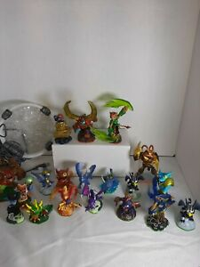 19 Skylanders Lot Bundle Spyros Adventure Giants Swap Force Trap Team👾 portal