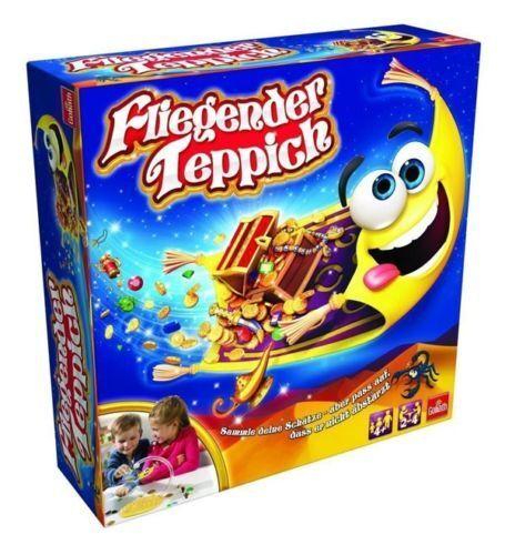 Spiele Goliath 30770 Aladin's Fliegender Teppich Geschicklichkeitsspiel NEU und OVP