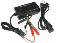 6v Volt 3ah Sealed Lead Acid Rechargeable Battery Charger / Tender - Auto-off