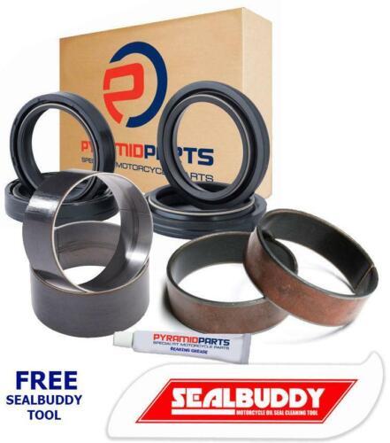 Fork Seals Dust Seals Bushes Kit for Kawasaki ZG1200 B Voyager XII 86-03