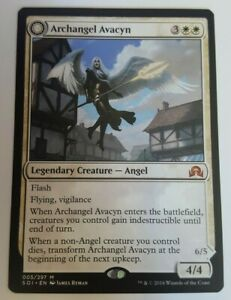 Transform MTG Archangel Avacyn Near Mint Foil English Magic Card From the Vault