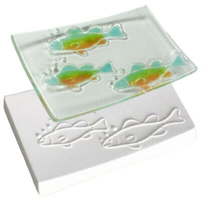 Vintage 2 Texture Mold #DT41 Creative Paradise Glass Fusing Mold