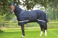 Hkm Pro Team Helsinki Protection Horse Fly Rug / Sheet | Full Combo Fixed Neck