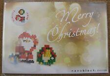 nanoblock NP060 postcard Merry Christmas