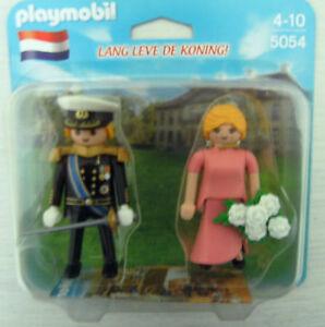 Playmobil-Koenigspaar-Koningspaar-5054-Neu-amp-OVP-Niederlande-Koenig-Koenigin