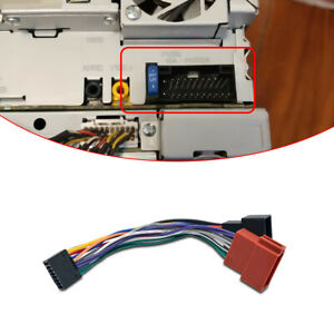 Cable-Wiring-Connector-Radio-Loom-Adaptor-16-PIN-ISO-Stereo-Harness-Car-KENWOOD