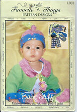 FAVORITE Little THINGS Baby Stuff Patterns Infant Sizes Pre-owned Unused OFF