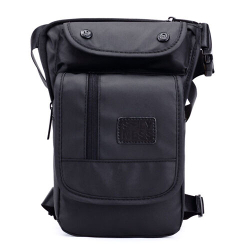 Imperméable Oxford Jambe Sac épaule Moto Ride Hommes Taille Fanny Pack Drop Sac