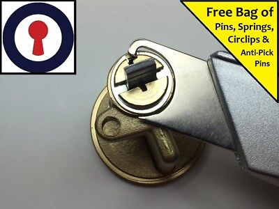 Locksmith tool for measuring Euro cylinders x 3 1st P/&P