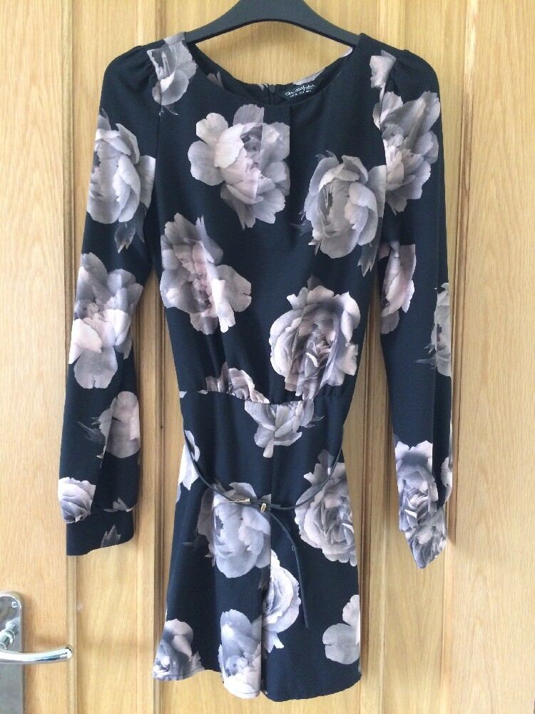 MISS SELFRIDGE WOMENS LADIES TEENAGE GIRL GOING OUT PLAYSUIT SIZE 8