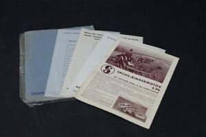 Age-Pression-Sachs-Moteur-Bindermotor-Old-Vintage-Publicite-Publicite