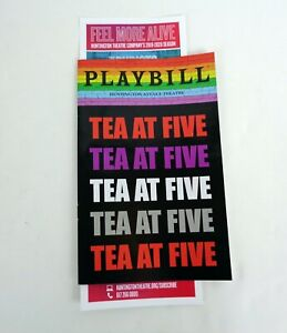 Faye-Dunaway-Boston-Tea-At-Five-Pre-Broadway-Playbill-Katharine-Hepburn