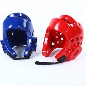 UK Kids Children Head Guard Gear-Head-Protector Helmet For Kickboxing Taekwondo
