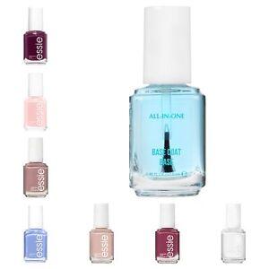 essie nail polish all in one base top coat + essie nail polish
