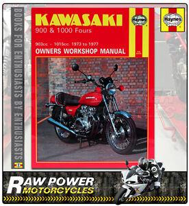 kawasaki z1 903cc 1973 1976 haynes manual 0222 ebay rh ebay co uk kawasaki z1 900 owners manual Kawasaki 900 Z1 2018