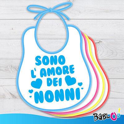 """Other Baby Bavetto Bavaglino """"l Amore Dei Nonni"""""""