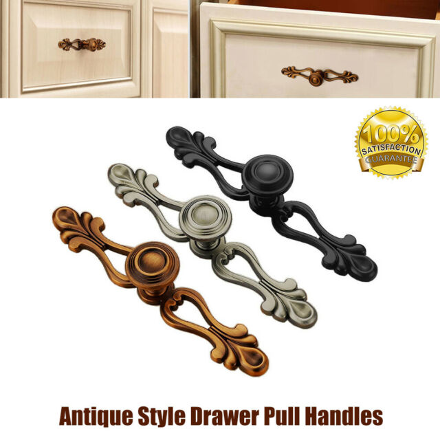 Bronze Effect Iron Metal Cupboard Drawer Door Knob Handle