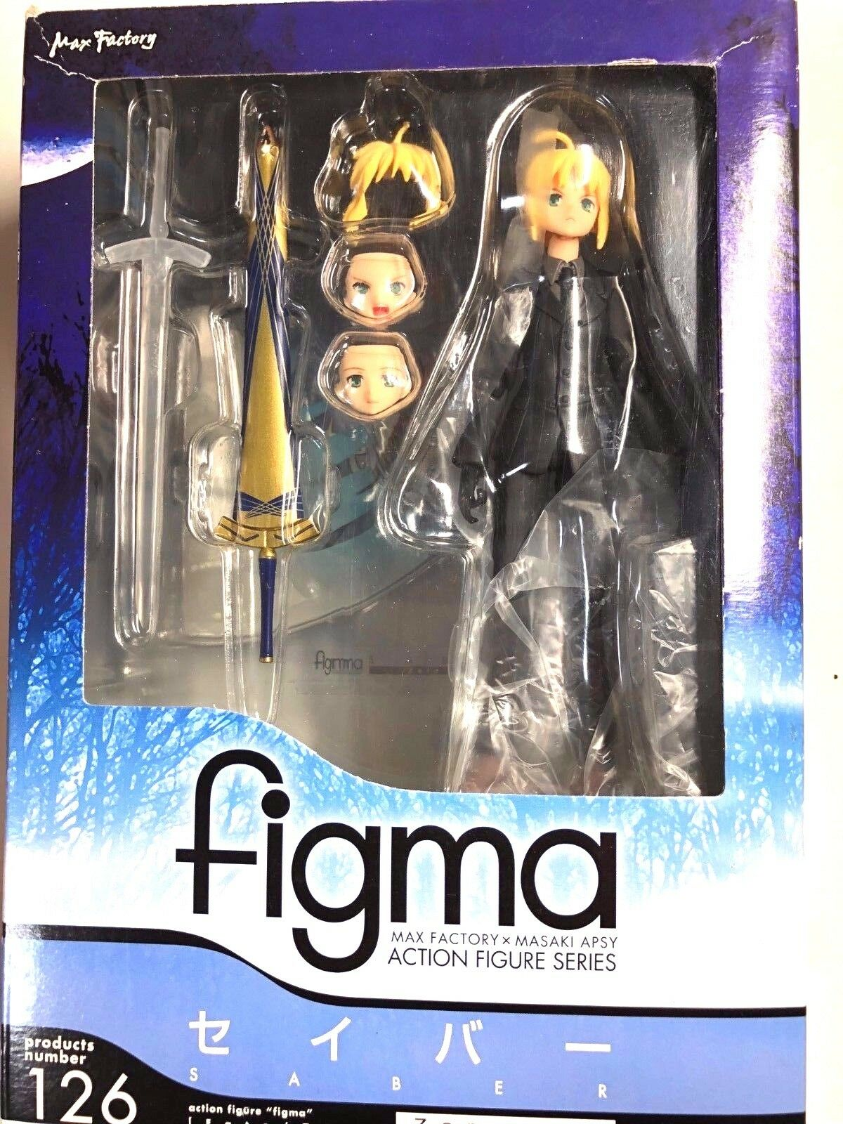 Free Shipping from Japan Authentic Figma Fate Zero  Saber 126