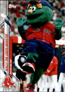 2020-Topps-Opening-Day-Mascots-Baseball-Card-Singles-Complete-Your-Set-You-Pick