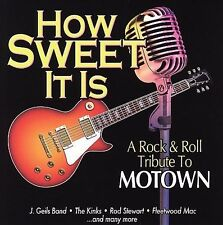 New: Various Artists: How Sweet It Is: Rock & Roll Tribute to Motown  Audio CD