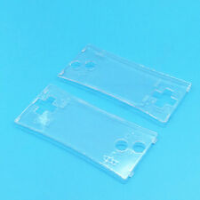Transparent Faceplate Front Case Cover Shell Part for Nintendo Gameboy Micro GBM