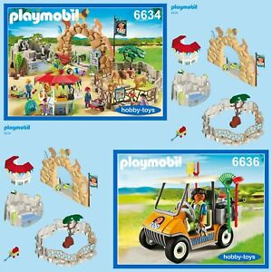 SPARE PARTS SERVICE * Spares Playmobil LARGE CITY ZOO 6634