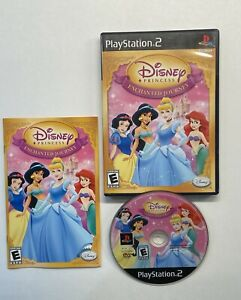 Disney Princess: Enchanted Journey (Sony PlayStation 2, 2007) COMPLETE!!