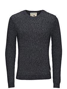 sulla spalla Mens maglione maglia Jack con coste a Brody bottoni blu Jones q8qf7TU