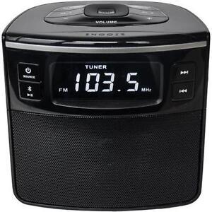sylvania scr1986bt as bluetooth alarm clock radio ebay. Black Bedroom Furniture Sets. Home Design Ideas