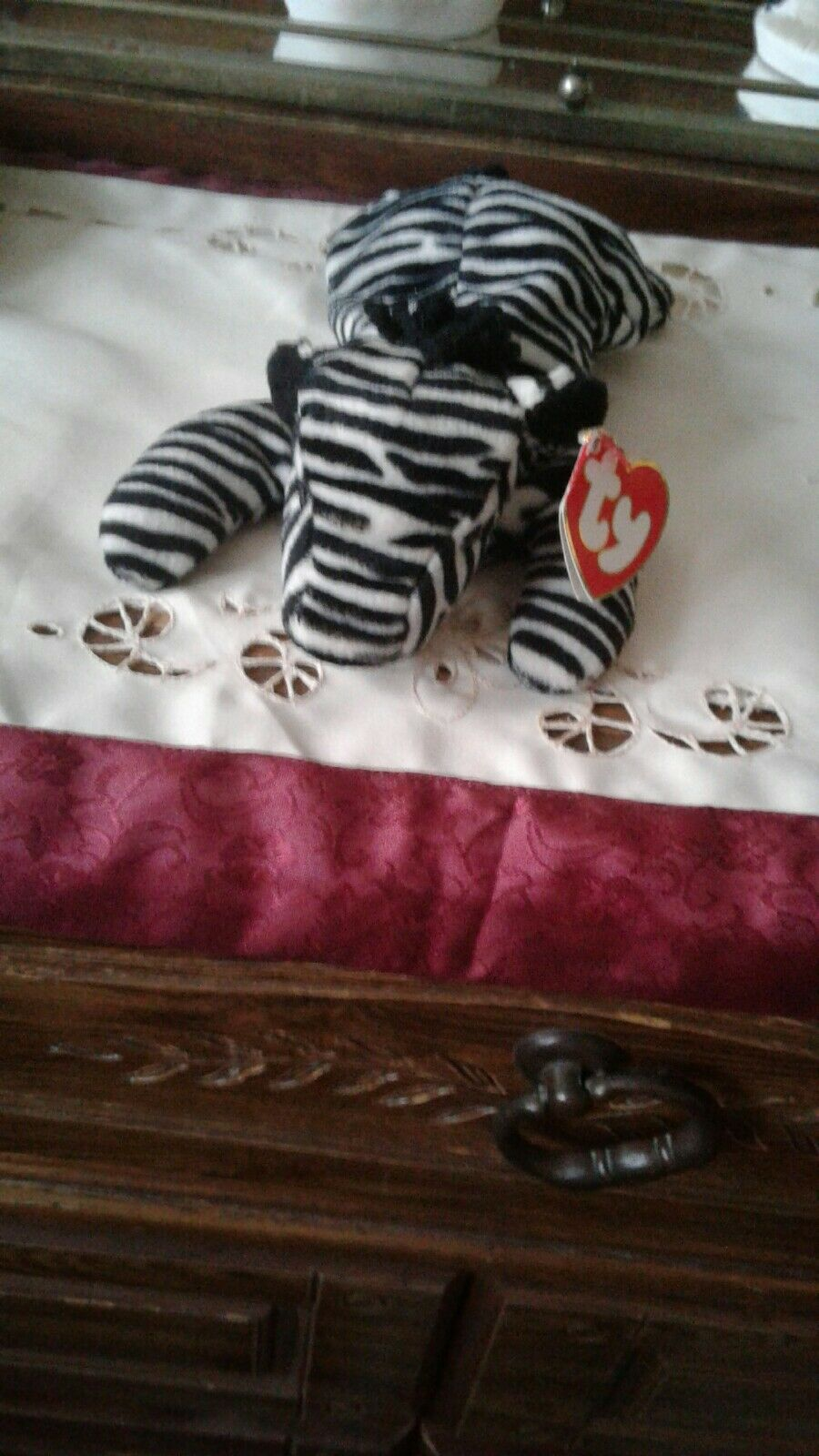 Ty Beanie Babies - 1995, Ziggy (), Excellent Condition NWT
