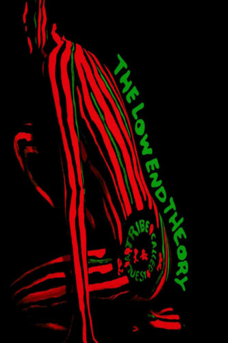 G-468 A Tribe Called Quest The Low End Theory Hip Hop Cover Silk Poster 21 24x36