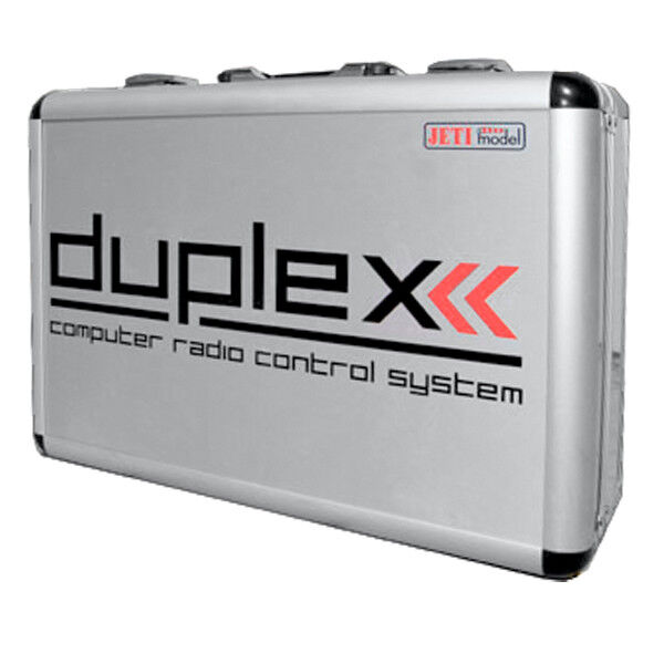 Duplex 2.4 EX Aluminum Case for Transmitter DS-16 JETImodel 80001543 820107