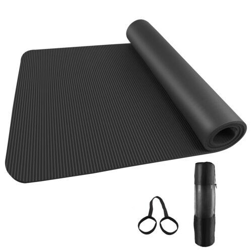 Yogamatte Fitnessmatte Gymnastikmatte Pilates Sportmatt Bodenmatte 185x80x1 cm